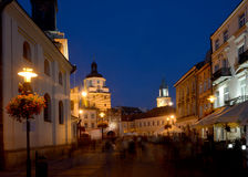 Lublin - evening view Royalty Free Stock Photos