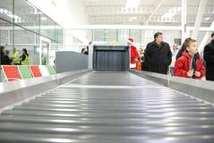Lublin-Flughafen - geöffneter Tag Stockbild