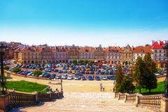 Lublin gammal stad Royaltyfri Fotografi