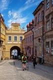 Lublin gammal stad Arkivbild