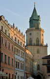 Lublin - historical part Royalty Free Stock Photos