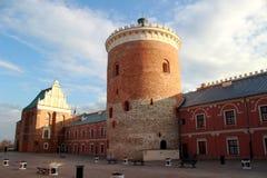 Lublin Królewski kasztel | Trójcy kaplica Obraz Royalty Free