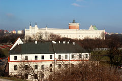 Lublin Królewski kasztel | Trójcy kaplica Fotografia Stock