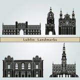 Lublin Landmarks Royalty Free Stock Photo