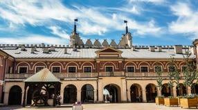 Lublin muzeum - widok od grodowego kwadrata obrazy stock