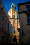 Lublin old city center Royalty Free Stock Images