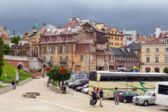 Lublin old town in Poland Stock Images