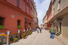 Lublin old town in Poland Royalty Free Stock Images