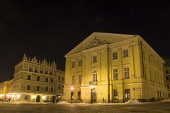 Lublin old town, Poland Stock Photography