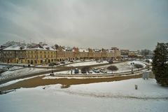 Lublin old town view Royalty Free Stock Image