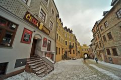 Lublin old town view Royalty Free Stock Photography