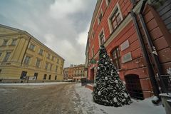 Lublin old town view Royalty Free Stock Photos