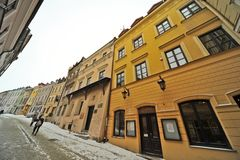Lublin old town view Royalty Free Stock Images