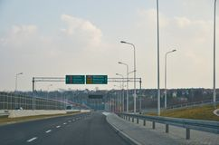 Lublin by-pass view Stock Photo