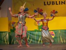 Lublin phetchabun Πολωνία Ταϊλάνδη Στοκ Φωτογραφίες