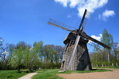 LUBLIN, POLAND - APRIL 27: Windmill in the open-air museum of lu Stock Image