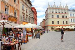 Lublin Stock Image