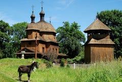 Lublin, Poland: Igreja 1759 do St Nicolas Foto de Stock Royalty Free