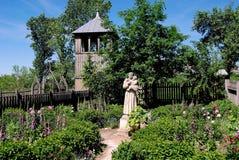 Lublin, Poland: Priest's Garden at Skansen Royalty Free Stock Photo
