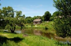 Lublin, Poland: Skansen Outdoor Museum Grounds Stock Photography