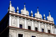 Lublin, Poland: 17th Century Baroque Mansion Royalty Free Stock Image