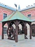 Lublin, Pologne, bien dans le château Photos libres de droits