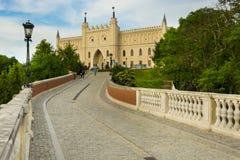 LUBLIN POLSKA, CZERWIEC, - 02, 2016 Średniowieczny królewski kasztel w cit zdjęcia stock