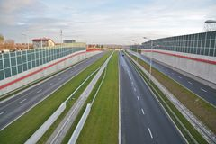 Lublin S17-S12 by-pass view Royalty Free Stock Images