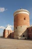 Lublin-Schlosshof Stockfotografie