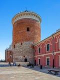 Lublin slott Royaltyfria Bilder