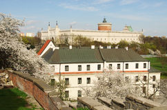 Lublin in the spring time Royalty Free Stock Photo
