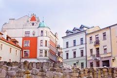 lublin wschód słońca Poland fotografia stock
