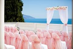 Ślubna ceremonia Zdjęcia Royalty Free