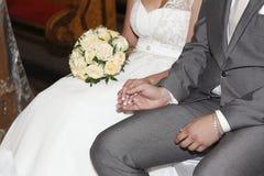 Ślubna ceremonia Zdjęcie Royalty Free