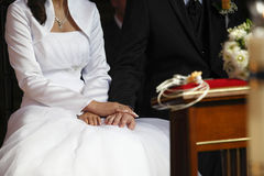 Ślubna ceremonia Obraz Stock