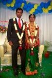 Ślubna ceremonia w Trivandrum, India Obrazy Royalty Free