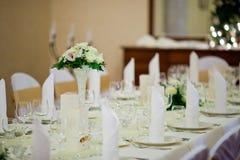 Ślubna dekoracja Zdjęcia Stock