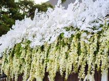 Ślubna kwiat dekoracja Fotografia Stock