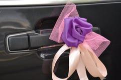 Ślubna limuzyna fotografia royalty free
