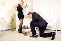 Ślubna propozycja Fotografia Stock