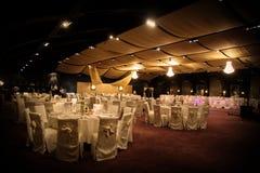 Ślubna sala balowa Zdjęcie Royalty Free