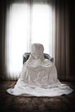 Ślubna suknia Fotografia Royalty Free