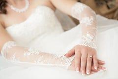 Ślubna suknia Fotografia Stock