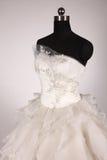 Ślubna suknia Zdjęcia Royalty Free