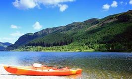 Lubnaig Escocia del lago Fotos de archivo