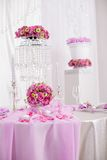 Ślubne dekoracje Obraz Royalty Free