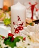 Ślubne dekoracje obraz stock