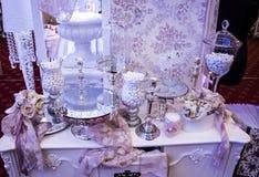 Ślubne dekoracje obrazy royalty free