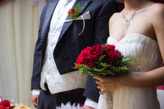 Ślubne fotografie Obraz Stock