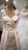 Ślubne suknie fotografia royalty free